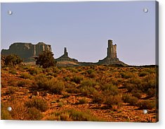 Monument Valley - Unusual Landscape Acrylic Print