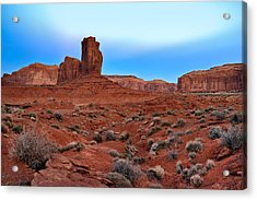 Monument Valley View Acrylic Print