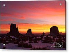 Monumental Sunrise Acrylic Print