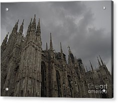 Monza Acrylic Print by Robert Daniels
