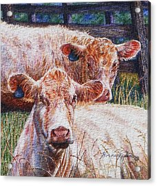 Moo Are You? Acrylic Print