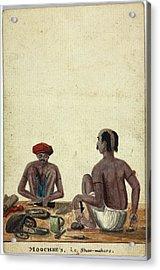 Moochee's Acrylic Print by British Library