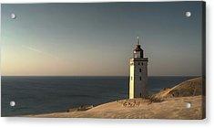 Mood At The Lighthouse Acrylic Print