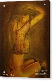 Mood For Love-original Sold-buy Giclee Print Nr 33 Of Limited Edition Of 40 Prints   Acrylic Print