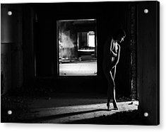 Mood From Light And Body Acrylic Print