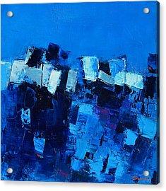 Mood In Blue Acrylic Print