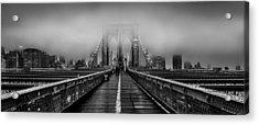 November Rain Acrylic Print by Az Jackson