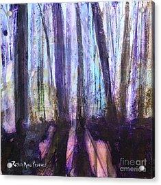 Moody Woods Acrylic Print