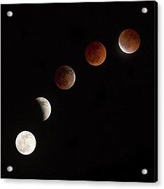 Moon At Play Acrylic Print