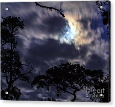 Moon Break Acrylic Print