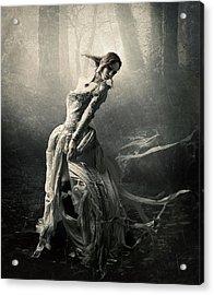 Moon Dance Acrylic Print by Cindy Grundsten