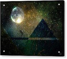 Moon Dance Acrylic Print by Gun Legler