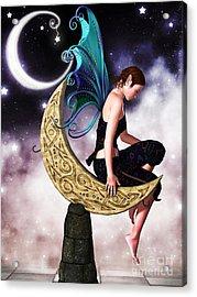 Moon Fairy Acrylic Print