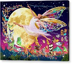 Moon Fairy Variant 1 Acrylic Print
