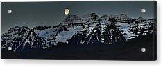 Moon Fall Acrylic Print