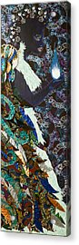 Moon Guardian - The Keeper Of The Universe Acrylic Print