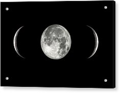 Moon In Parentheses Acrylic Print