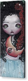 Moon Keeper Acrylic Print by  Abril Andrade Griffith