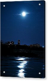 Moon Light Acrylic Print by Andre Faubert