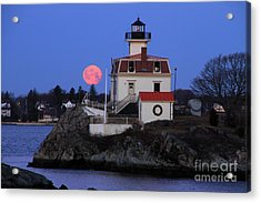 Moon-light Acrylic Print by Butch Lombardi