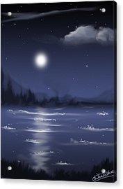Moon Light Acrylic Print