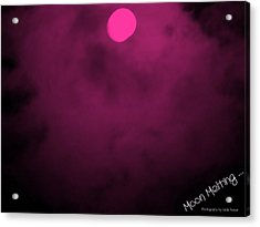 Moon Melting Acrylic Print