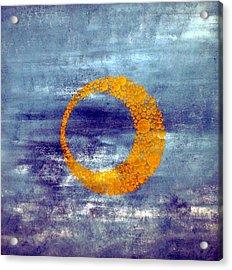 Moon Acrylic Print by Nico Bielow