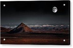 Moon Night Acrylic Print