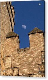 Moon Over Alcazar Acrylic Print