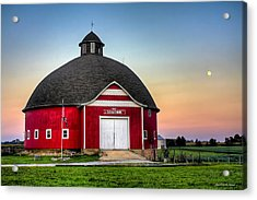 Moon Over Mulberry Acrylic Print