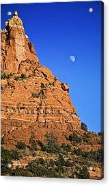 Moon Over Sedona Acrylic Print