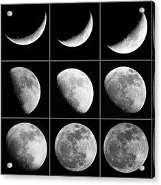 Moon Progression Acrylic Print