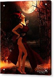 Moon Ritual Acrylic Print