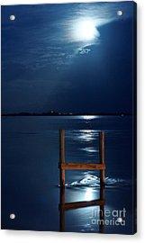 Moon River Acrylic Print
