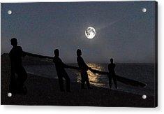 Moon Shadows  Acrylic Print by Eric Kempson