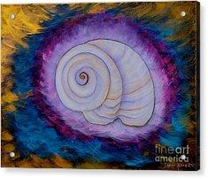 Moon Snail Acrylic Print