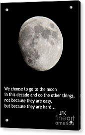 Moon Speech Acrylic Print