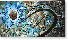 Moon Spell By Madart Acrylic Print by Megan Duncanson