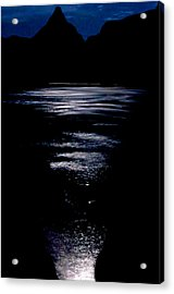 Moon Water Acrylic Print