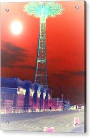 Moonbeam Acrylic Print by King Mezidor