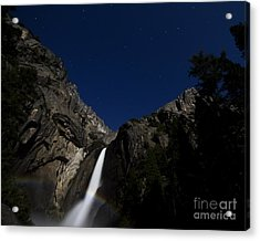 Moonbow And The Big Dipper Acrylic Print