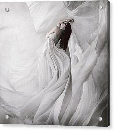 Moondance Acrylic Print by Anja Matko