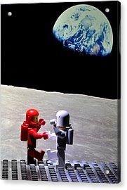 Moondance Acrylic Print by Mark Fuller