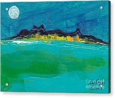 Moonlight Bay Acrylic Print