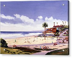 Moonlight Beach Encinitas Acrylic Print