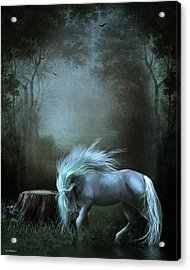 Moonlight Becomes Her Acrylic Print