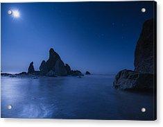 Moonlight Blue Acrylic Print