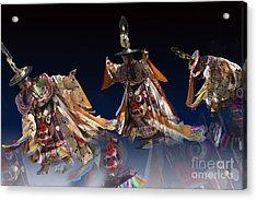 Acrylic Print featuring the digital art Moonlight Dance by Angelika Drake