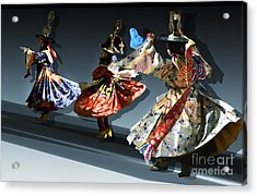 Acrylic Print featuring the digital art Moonlight Dance Graphics by Angelika Drake