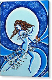 Moonlight Dancer Acrylic Print